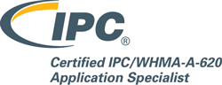 Certified IPC/WHMA-A-620 Application Specialist